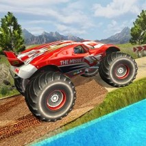 Monster Truck Hill Racing dvd cover
