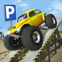 Obstacle Course Car Parking dvd cover