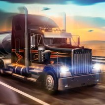 Truck Simulator USA dvd cover