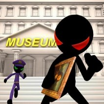 Stickman Museum Robbery Escape dvd cover