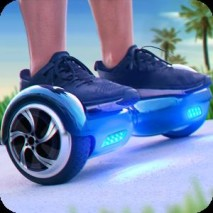 Hoverboard Surfers 3D dvd cover