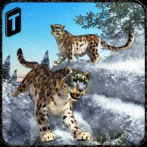 Forest Snow Leopard Sim Cover