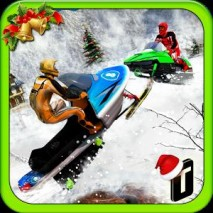 Snowmobile Crash Derby 3D dvd cover