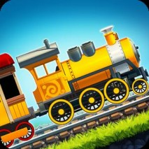 Fun Kids Train Racing Games Cover