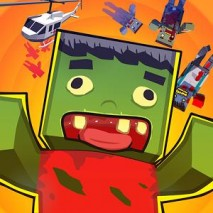 Blocky Zombies dvd cover