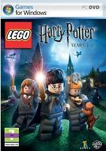 Lego Harry Potter Years 1-4 dvd cover
