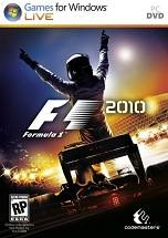 F1 2010 dvd cover