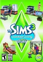 The Sims 3 Outdoor Living Stuff dvd cover