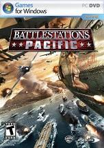 Battlestations: Pacific dvd cover