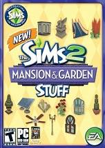 The Sims 2 Mansion & Garden Stuff dvd cover