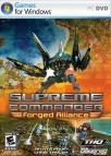 Supreme Commander: Forged Alliance dvd cover