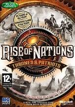 Rise of Nations: Thrones & Patriots dvd cover