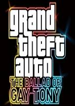 Grand Theft Auto IV: The Ballad of Gay Tony dvd cover