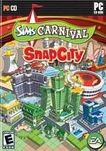 The Sims Carnival: SnapCity dvd cover