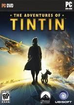 The Adventures of Tintin: Secret of the Unicorn dvd cover