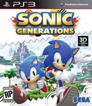 Sonic Generations dvd cover
