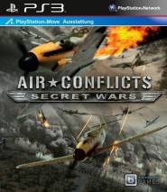 Air Conflicts: Secret Wars cd cover