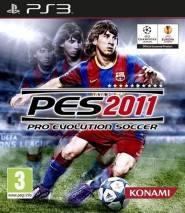 Pro Evolution Soccer 2011 cd cover