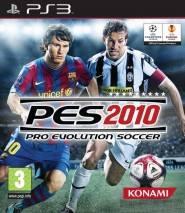 Pro Evolution Soccer 2010 cd cover