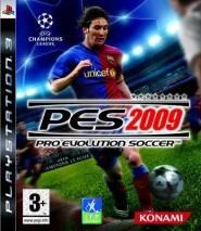Pro Evolution Soccer 2009 cd cover