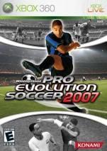 Pro Evolution Soccer 2007 dvd cover