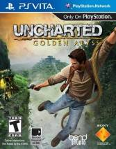 Uncharted: Golden Abyss dvd cover
