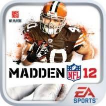 MADDEN NFL 12 dvd cover
