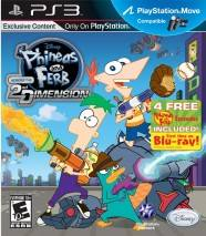 Phineas and Ferb: Across the 2nd Dimension dvd cover