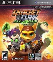 Ratchet & Clank: All 4 One  cd cover