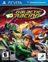 BEN 10: Galactic Racing dvd cover