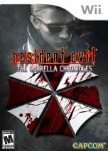 Resident Evil: The Umbrella Chronicles dvd cover