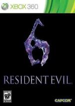 Resident Evil 6 dvd cover