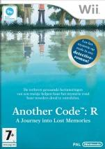 Another Code: R - A Journey into Lost Memories dvd cover