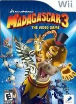 Madagascar 3: The Video Game dvd cover