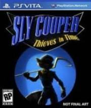Sly Cooper Thieves in Time dvd cover