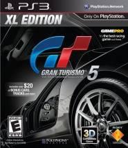 Gran Turismo 5 XL Edition cd cover