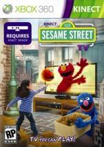 Kinect Sesame Street TV dvd cover