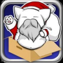 Flying Santa Cat dvd cover
