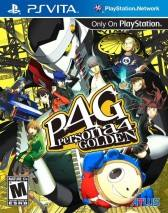 Persona 4 Golden dvd cover
