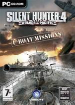 Silent Hunter 4 U-boat Missions dvd cover