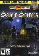 Hidden Mysteries: Salem Secrets dvd cover