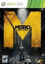 Metro: Last Light dvd cover