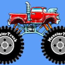 Fun Monster Truck Race dvd cover
