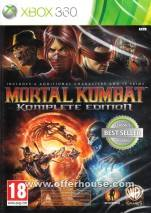 Mortal Kombat Komplete Edition dvd cover