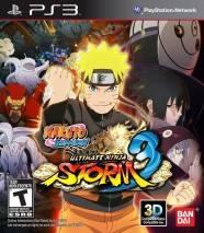 Naruto Shippuden Ultimate Ninja Storm 3 Full Burst dvd cover