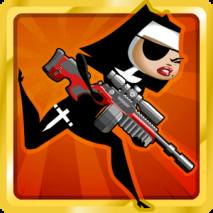 Nun Attack: Run and Gun Cover