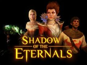 Shadow of the Eternals poster