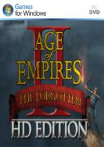 Age of Empires II HD: The Forgotten dvd cover