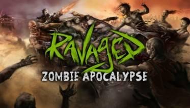 Ravaged Zombie Apocalypse dvd cover