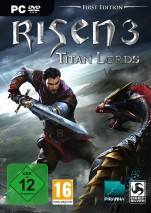 Risen 3: Titan Lords dvd cover
